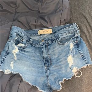 Hollister high-rise vibtage short